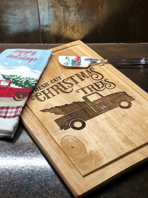 Christmas Tree Board with Accessories