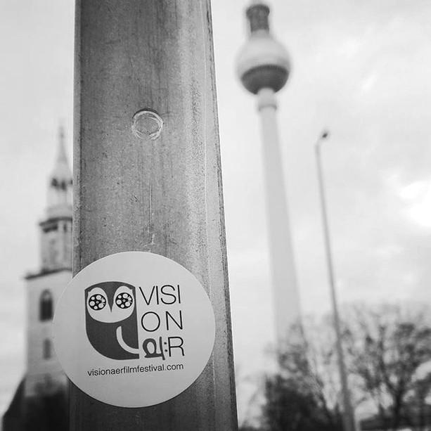 • Visionär Film Festival Berlin Branding