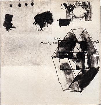四角いガラス