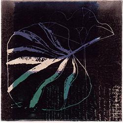 蓮の葉 14x14cm
