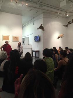 Tsewang Rinpoche, full house