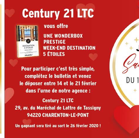 Flyer Century21 Saint Valentin V°