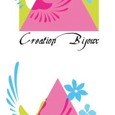 Creation logo pour creatrice bijoux