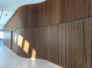 Barings Feature Wall