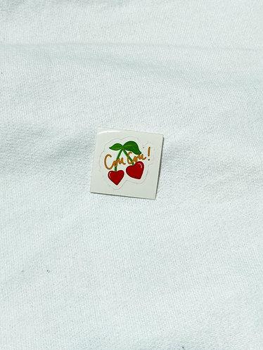 Cou Cou Cherry Sticker