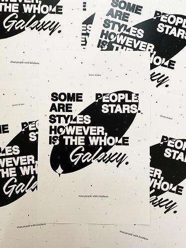 11x17 Styles Galaxy Poster