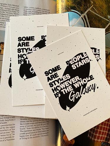 4x6 Styles Galaxy Print