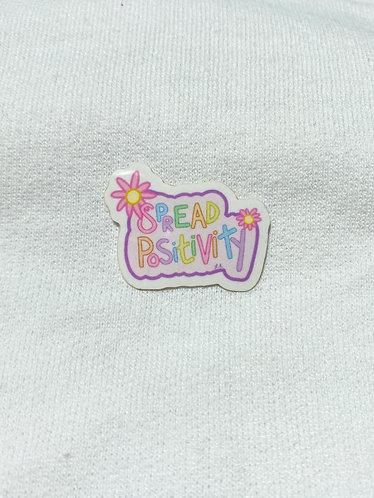 Spread Positivity Sticker