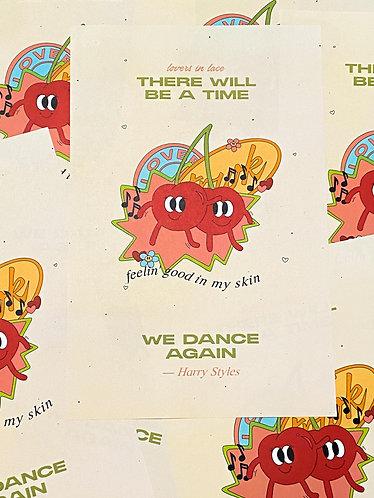 11x17 Dance Again Poster
