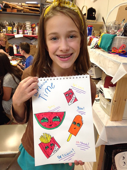 Cartoon Drawing: Session A (Ages 9-15)