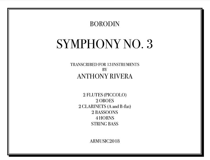 Borodin, Aleksandr - Symphony No. 3 in A Minor