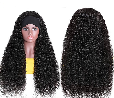 Glamtrio Water Wave Head Band Wig