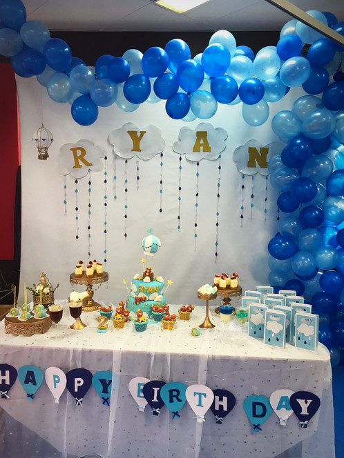 Birthday backdrop and table set up | Party & Event Planning In ...