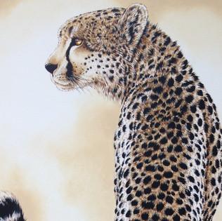 Toile Cheetah-détail
