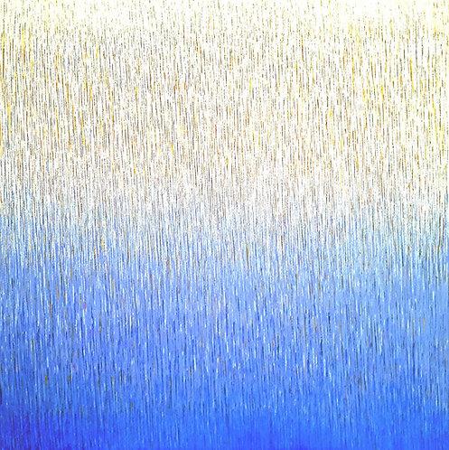 "Friedhard Meyer ""Farbzone Ultramarin 4"""