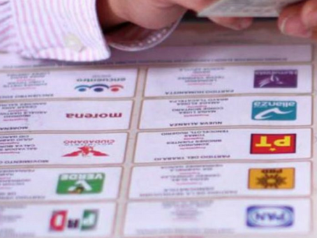 Boletas electorales de México se convierten en libros de texto.