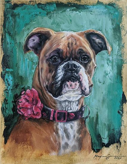 Alla Prima Oil Sketches Pet Portraits