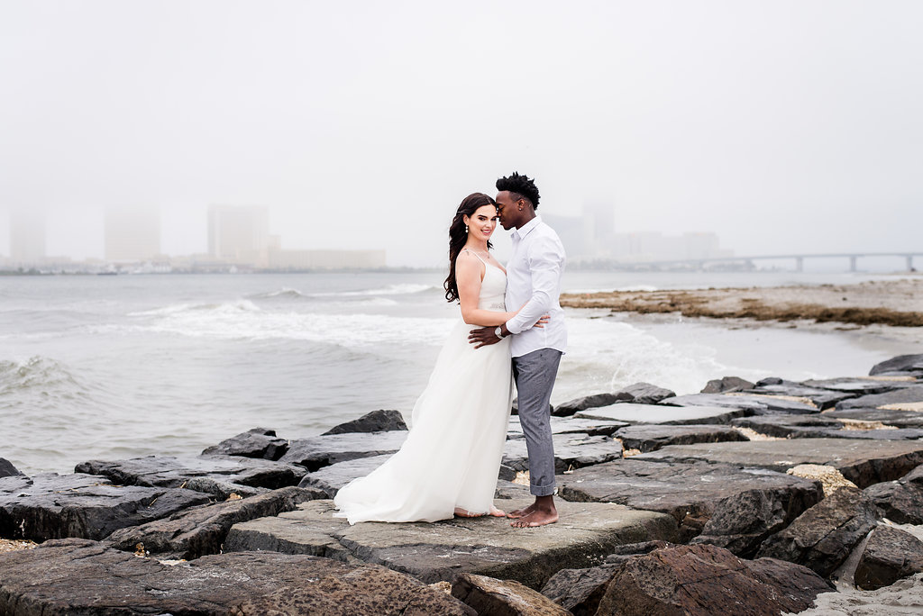 Brigantine-Beach-Engagement-Portraits-At