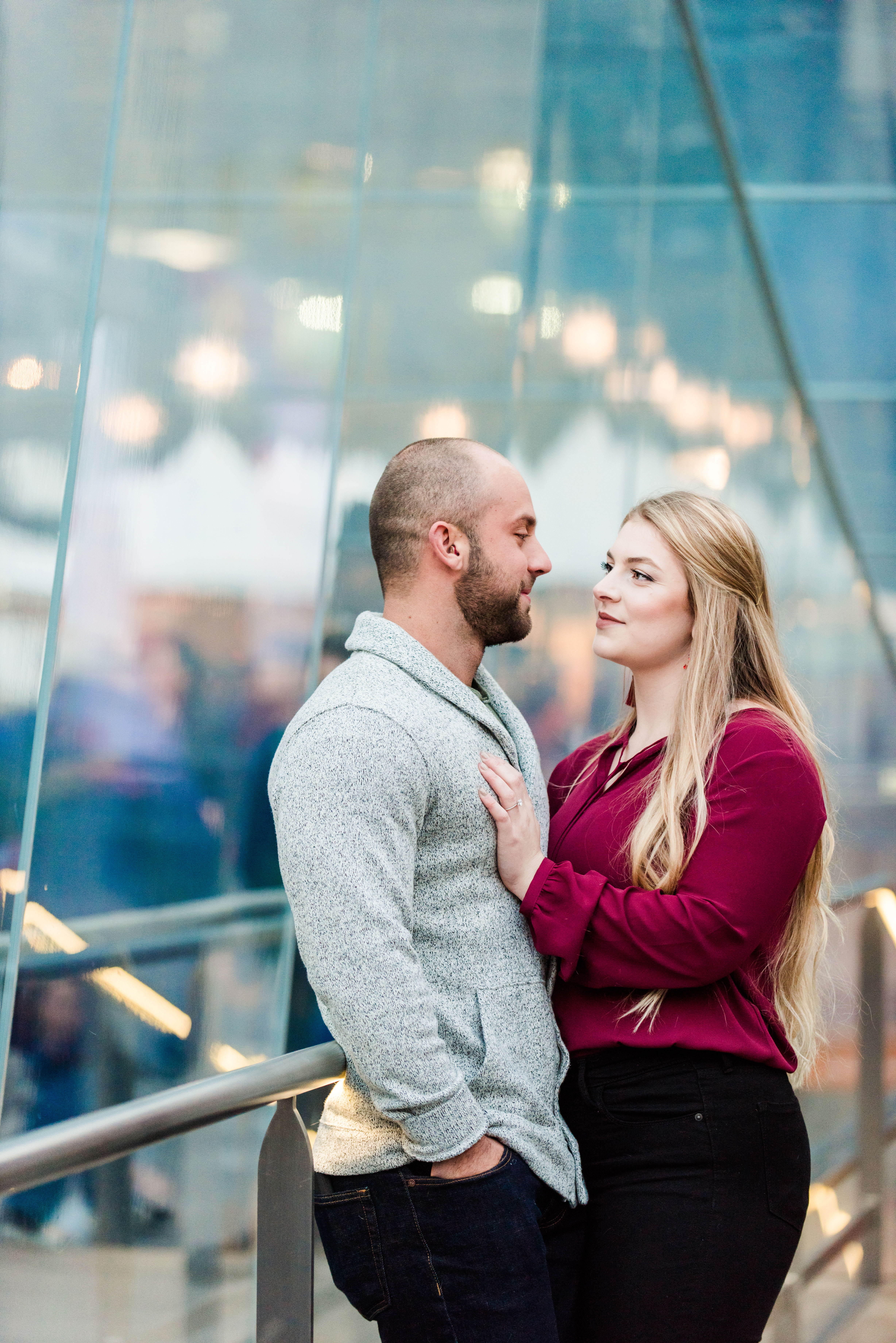 Engagement Photos Philadelphia Pennsylvania City Portraits Andrea Krout Photography-4