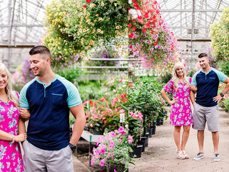 Ott's Exotic Plants - Schwenksville, Pennsylvania Engagement Portraits