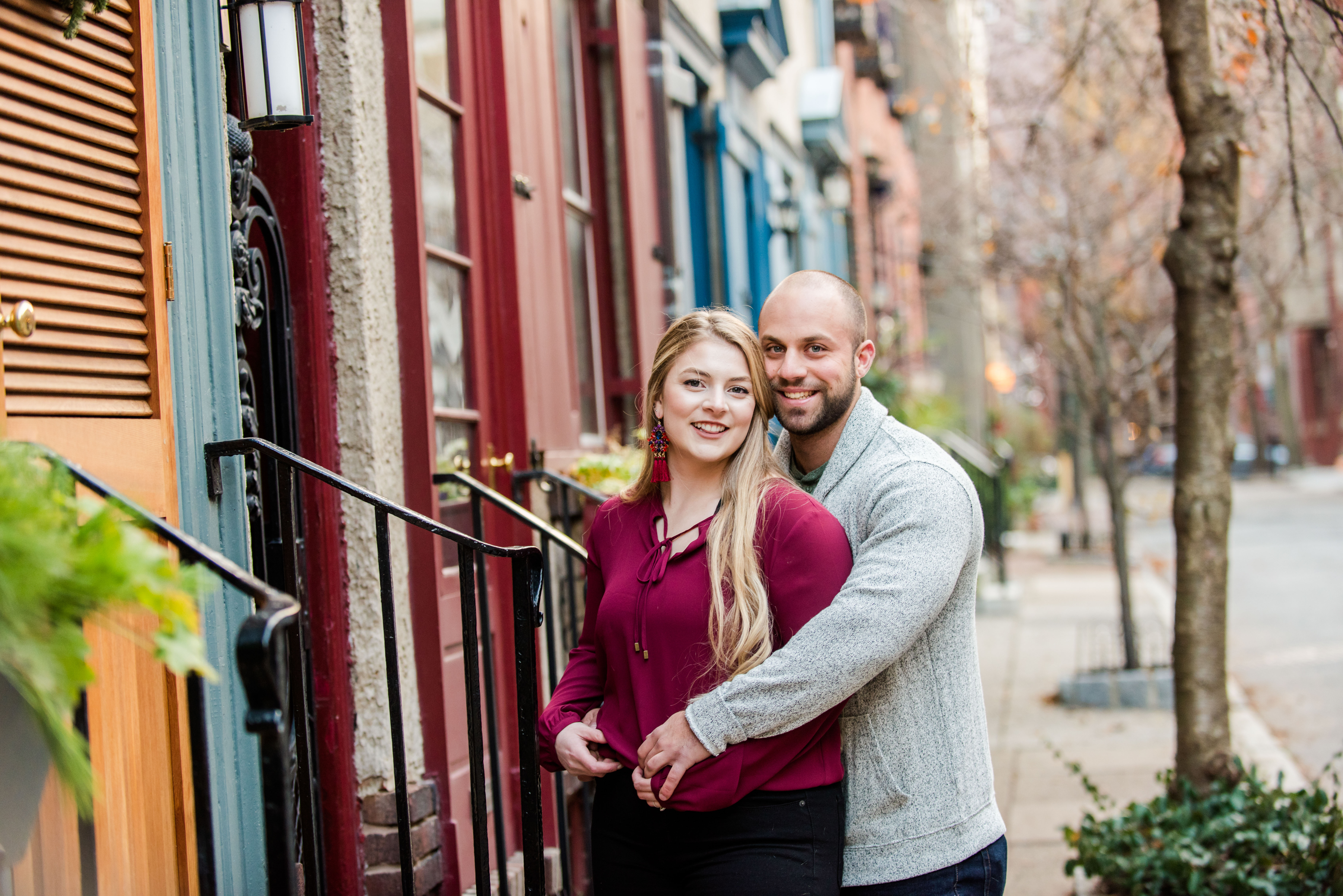 Engagement Photos Philadelphia Pennsylvania City Portraits Andrea Krout Photography-9
