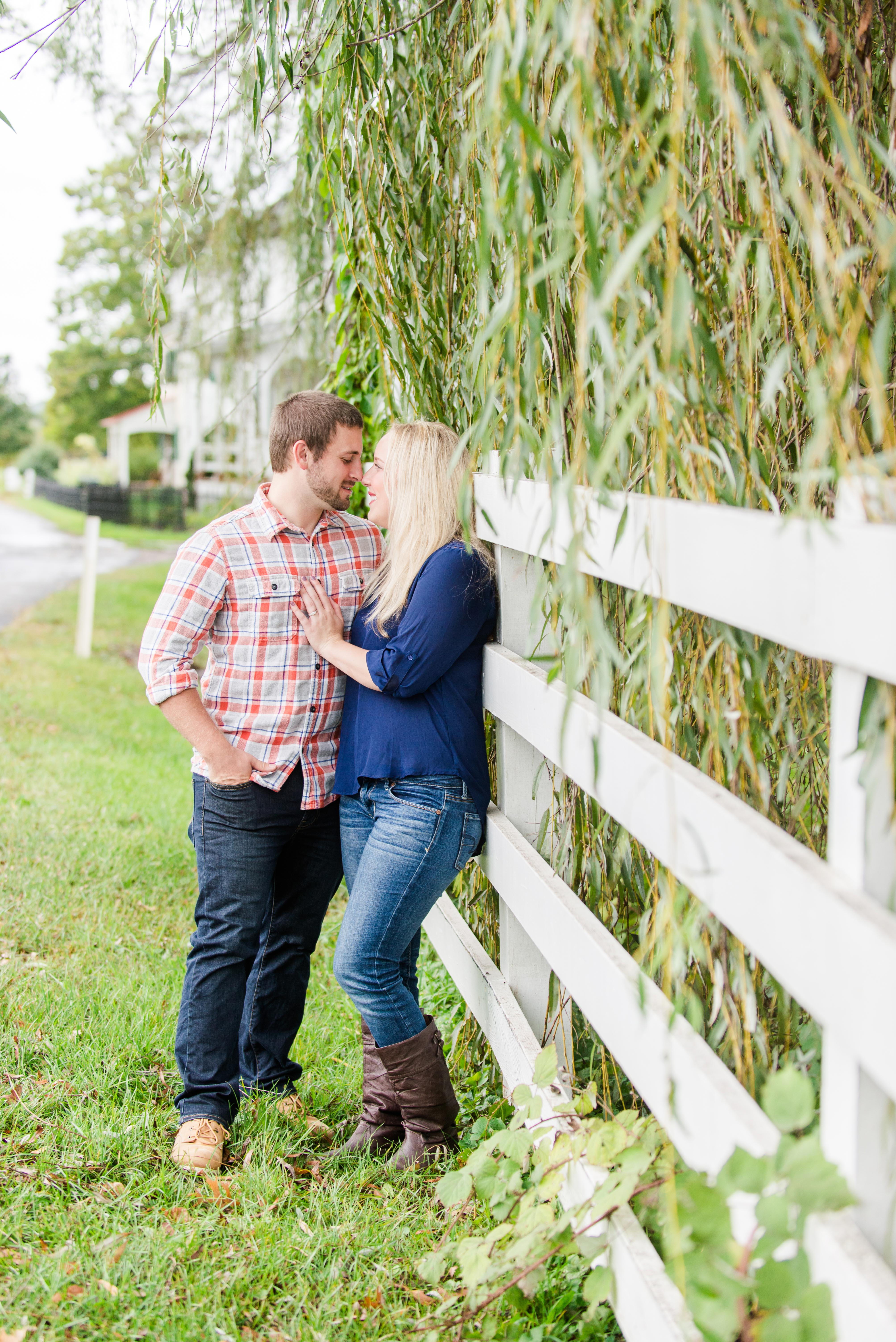 Abbey and Carl Engagement Photos Rodale Institute Kutztown Pennsylvania Andrea Krout Photography-42
