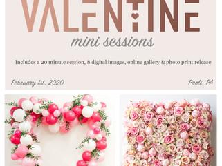 Special Collaboration - Valentine Mini Sessions - Paoli, PA