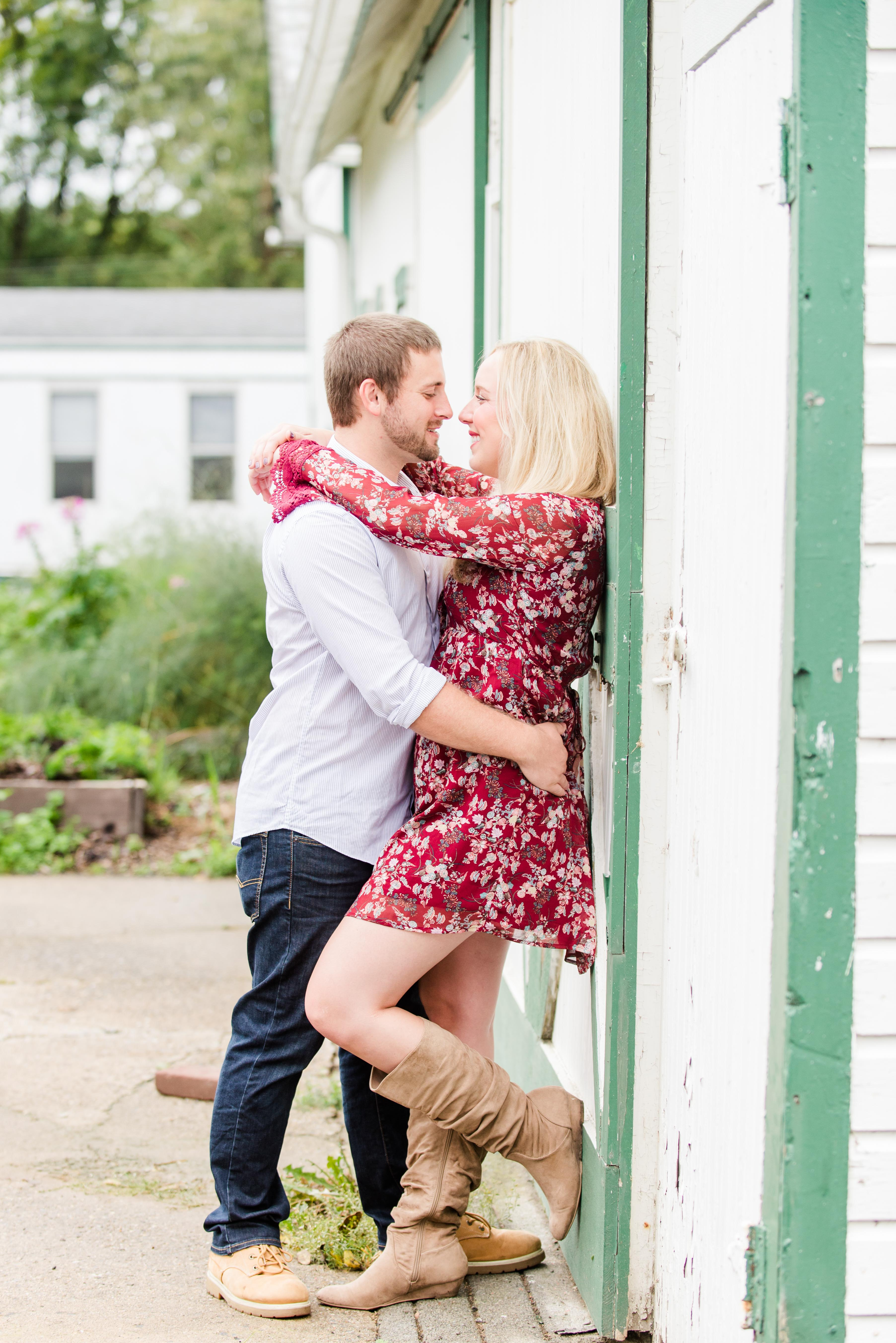 Abbey and Carl Engagement Photos Rodale Institute Kutztown Pennsylvania Andrea Krout Photography-36