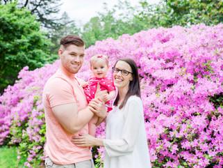 Mommy & Me Family Photographer - The Morris Arboretum of the University of Pennsylvania