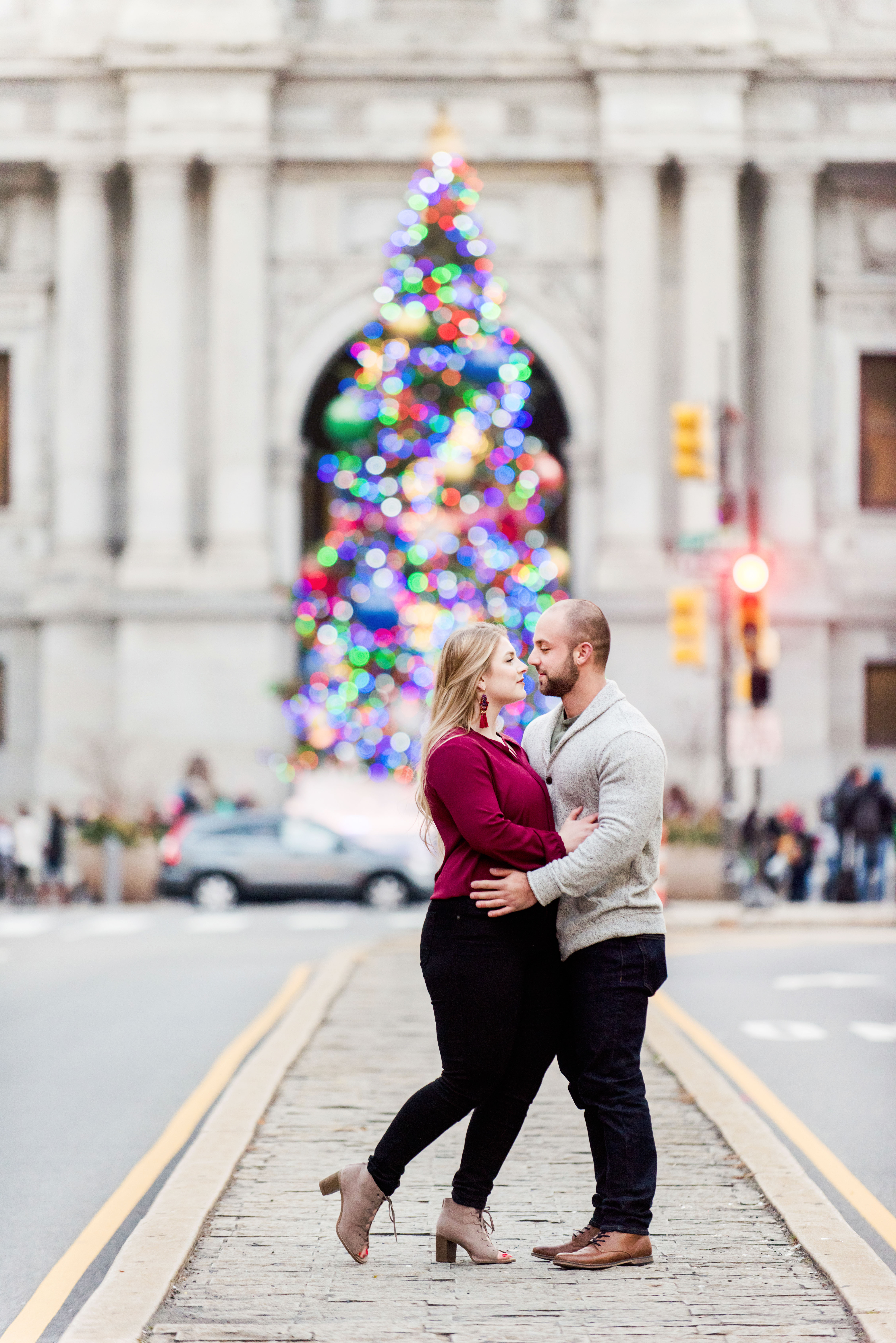 Engagement Photos Philadelphia Pennsylvania City Portraits Andrea Krout Photography-2
