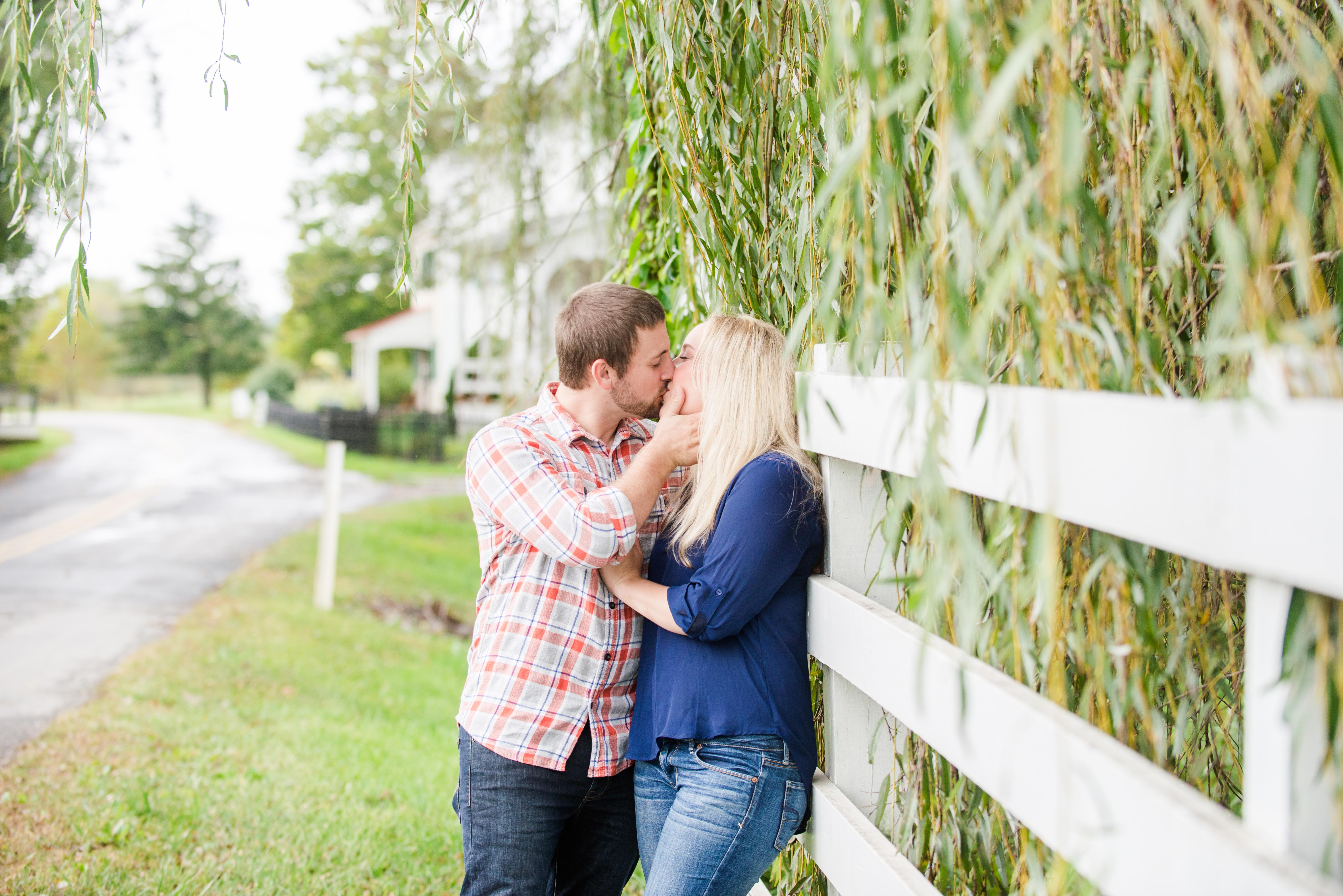 Abbey and Carl Engagement Photos Rodale Institute Kutztown Pennsylvania Andrea Krout Photography-45