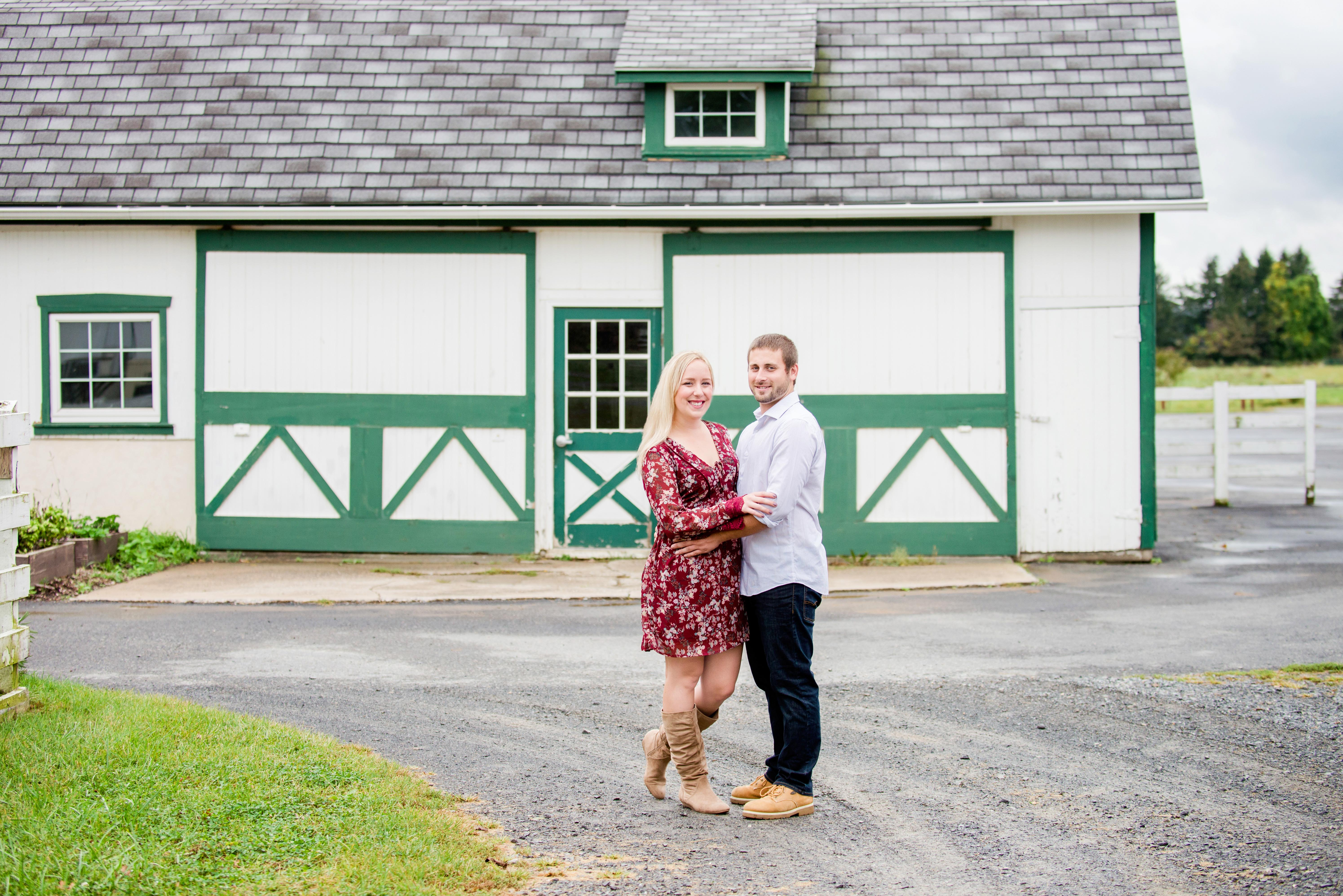 Abbey and Carl Engagement Photos Rodale Institute Kutztown Pennsylvania Andrea Krout Photography-7 2