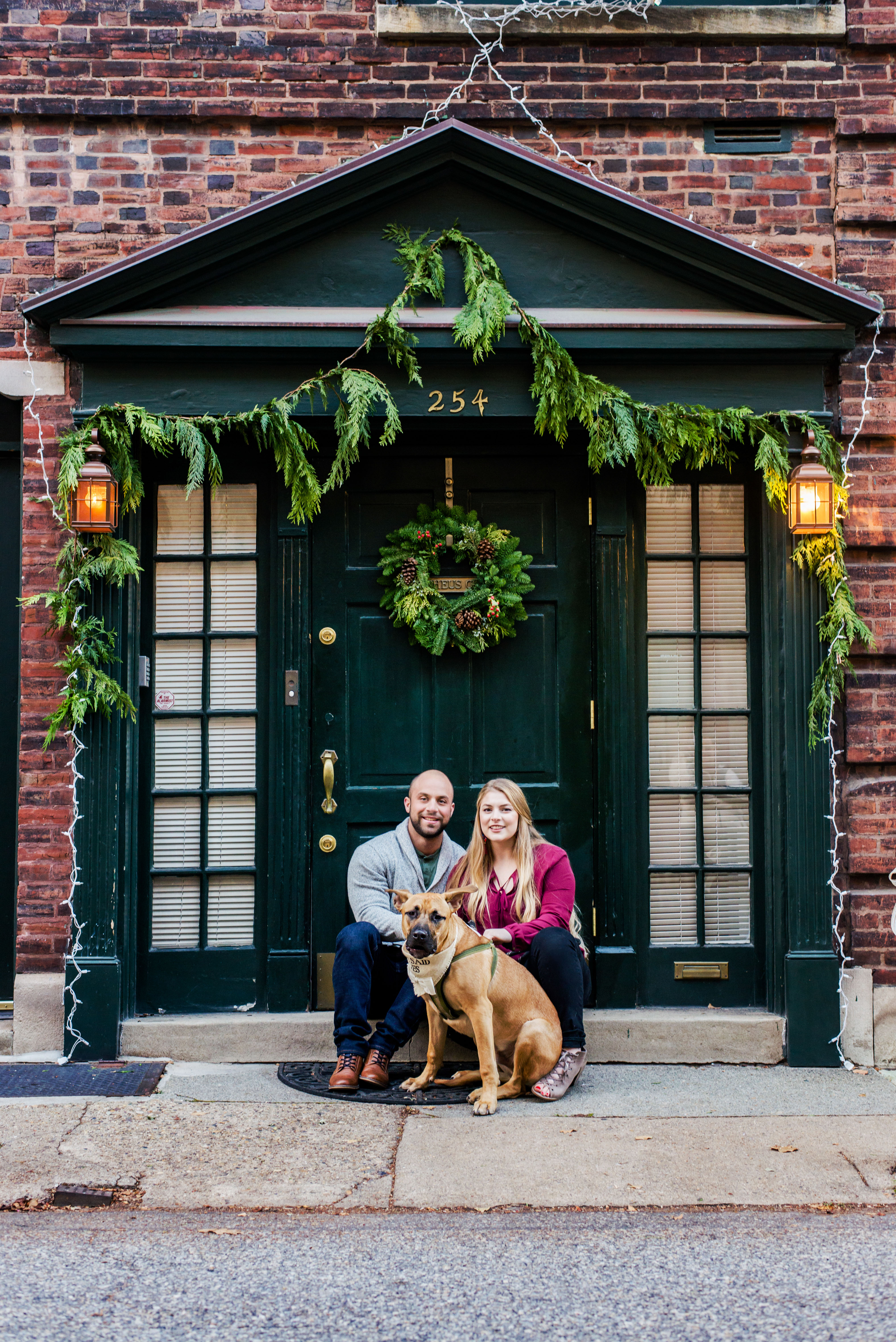 Engagement Photos Philadelphia Pennsylvania City Portraits Andrea Krout Photography-7
