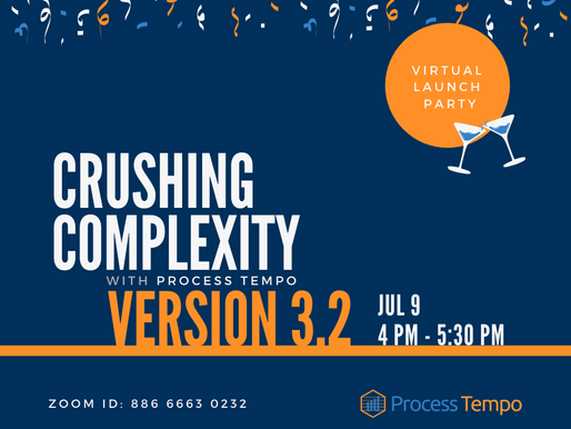 Virtual Launch of Process Tempo 3.2