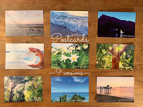 POSTCARDS -full set 9-