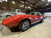 Corvette Stingray rouge