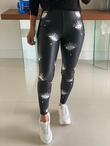 Leggings Cuerina look