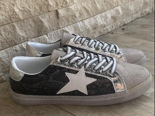 Shoes Black stars