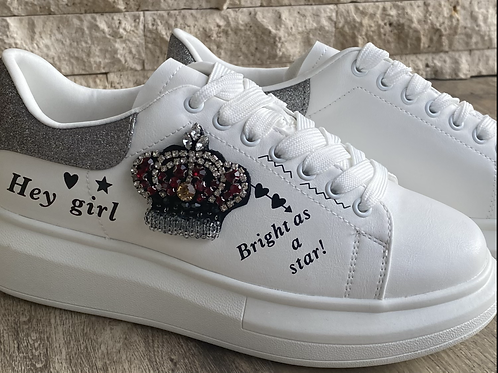 Shoes queen white