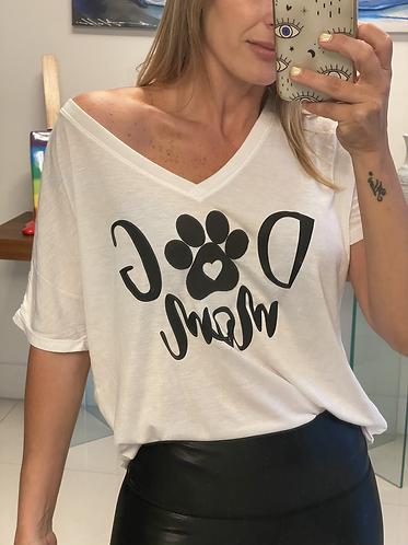 T-shirt mom dog