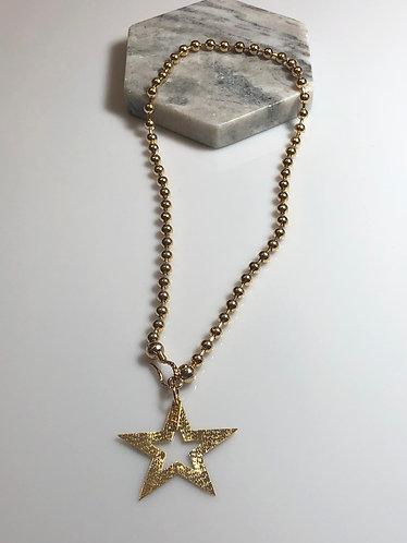 Collar stars Koral