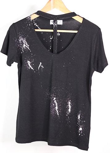T-shirt Black cuore
