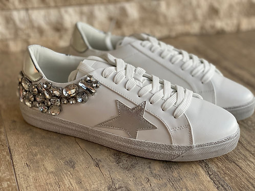 Shoes silver GG