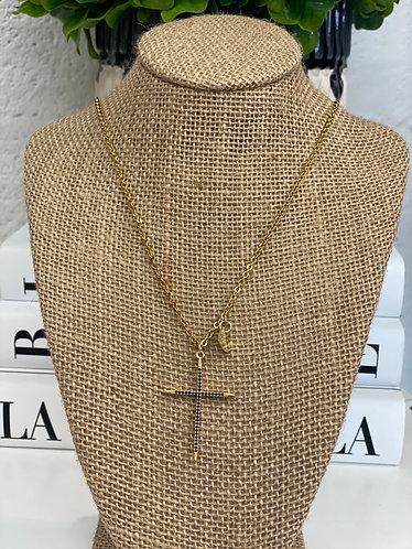 Collar forever navy cruz