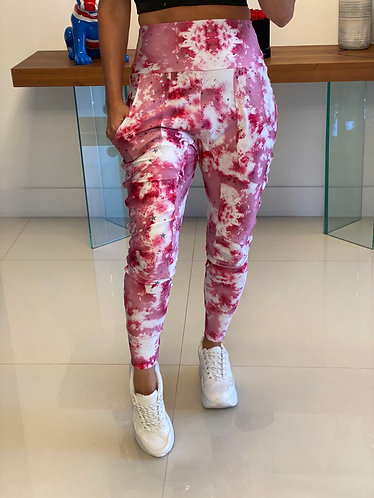 Babucha tie pink