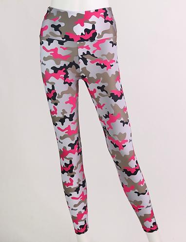 Leggings FIT camo pink