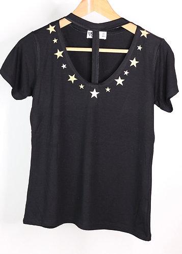 T-shirt stars gold