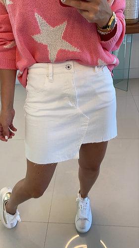 Falda white Luna