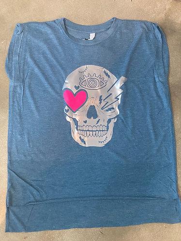T-shirt catrina blue