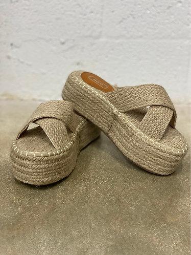 Shoes summer beige